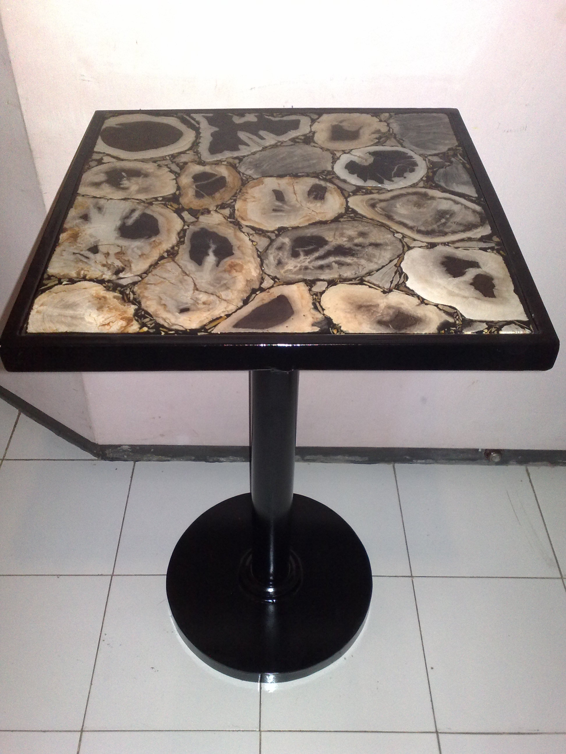 exceptional petrified wood dining table petrified wood table 46