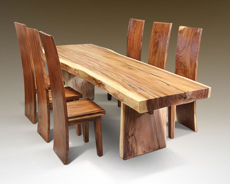solid wood work tables