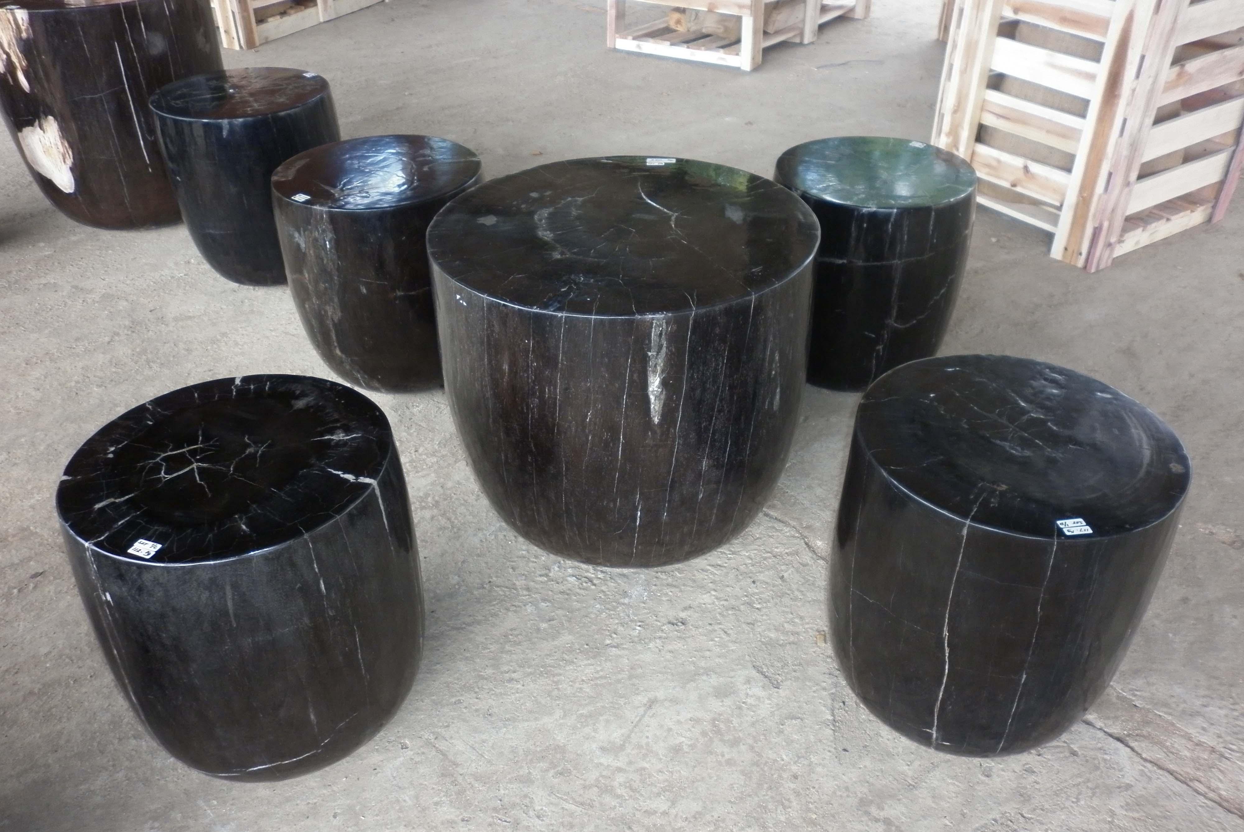 Fossil wood table indogemstone unusual home decor for Petrified wood furniture for sale