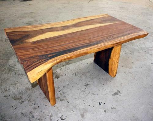 wood slab coffee table. ctr048 single slab coffee table blackened
