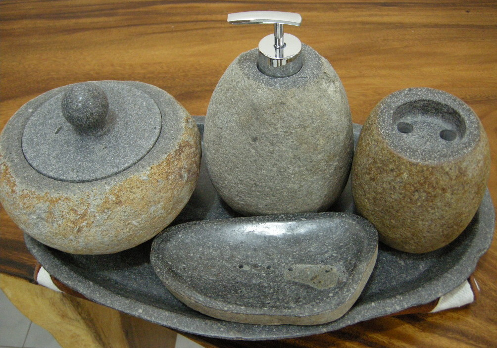 stone bathroom accessories for sale from