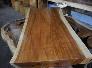 Natural Hardwood Table